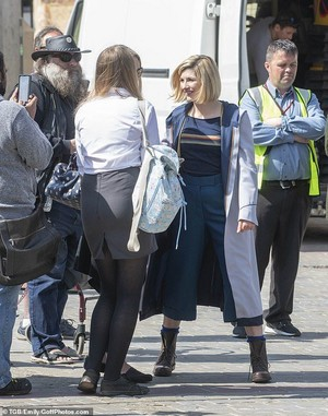 Doctor Who/Jodie Whittaker bts