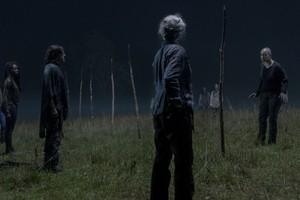 10x03 ~ Ghosts ~ Carol, Daryl, Michonne and Alpha