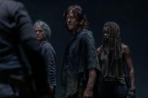 10x03 ~ Ghosts ~ Daryl, Carol and Michonne