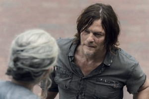 10x07 ~ Open Your Eyes ~ Daryl and Carol
