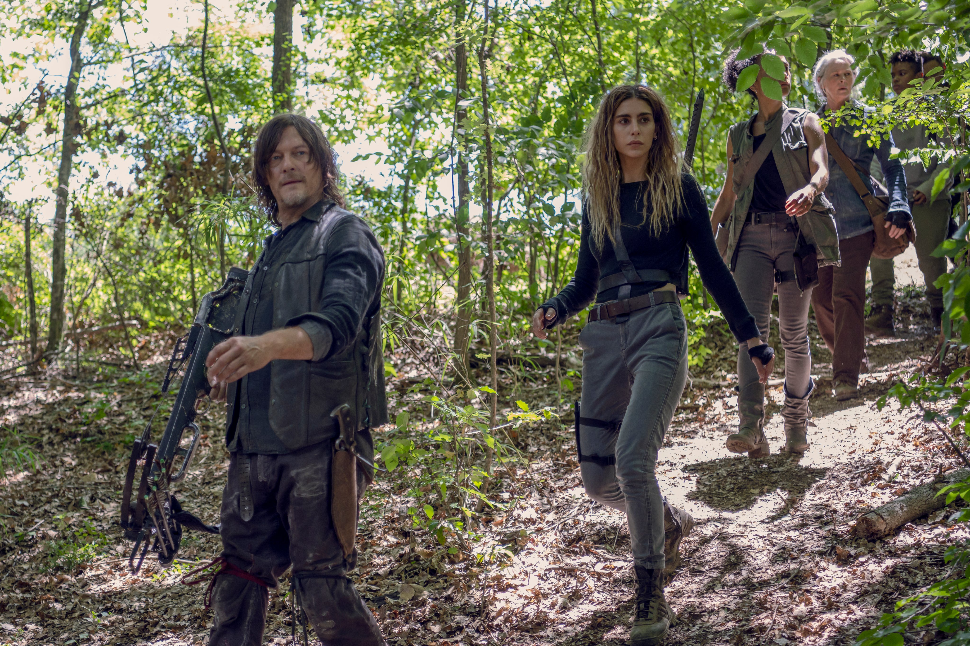 10x08 ~ The World Before ~ Daryl, Magna, Connie, Carol and Kelly