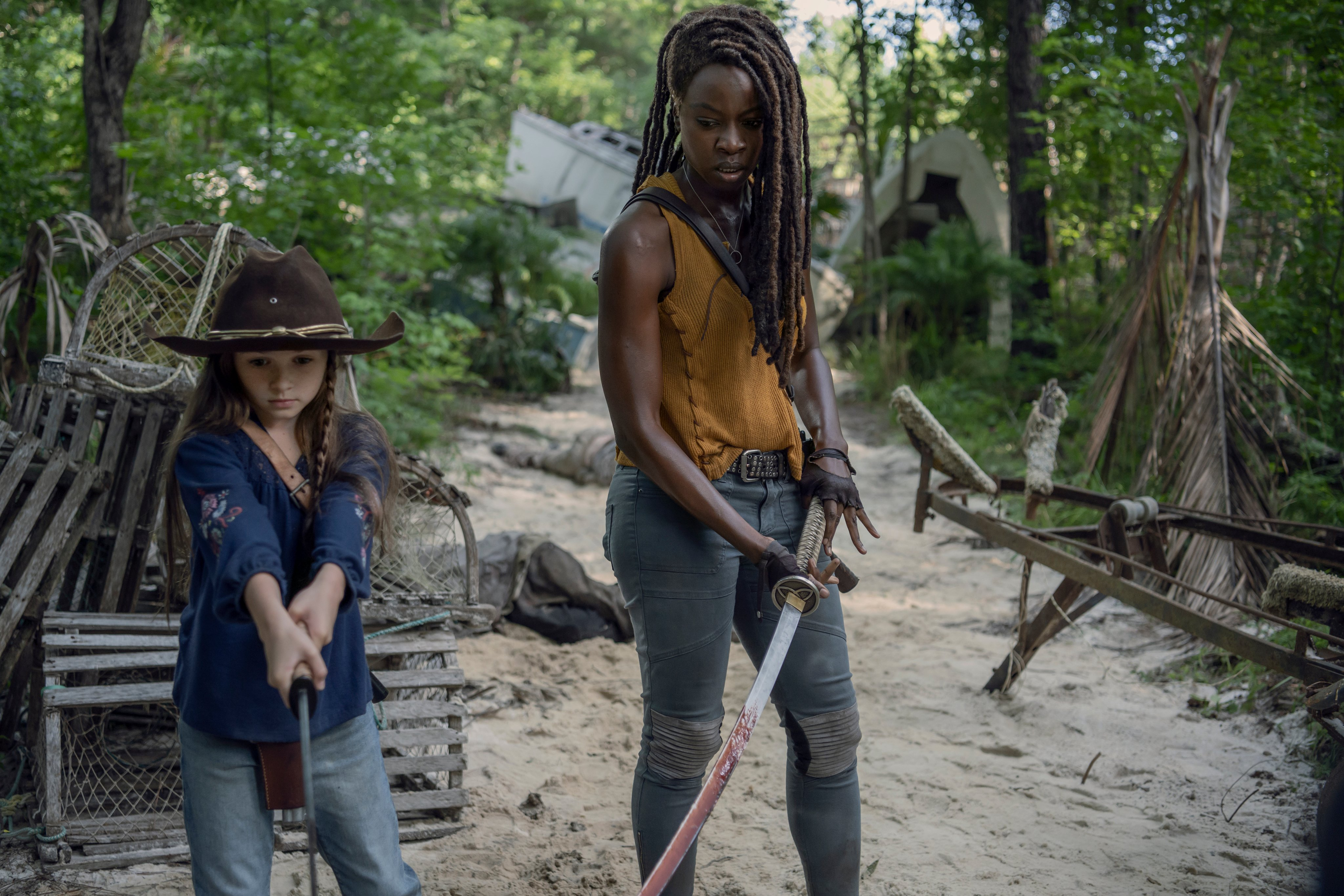 10x08 ~ The World Before ~ Judith and Michonne