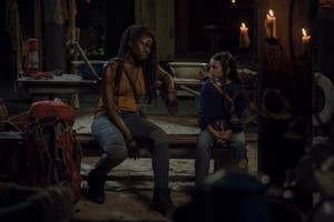 10x08 ~ The World Before ~ Michonne and Judith