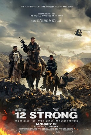 12 Strong (2018) Poster