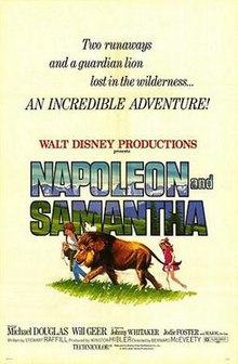 1972 Movie Poster 1972 Disney Film, Napoleon And Samantha