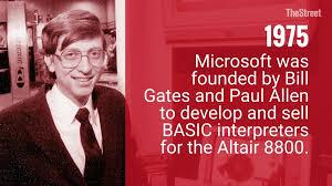 1975 Microsoft