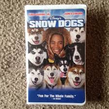 2002 Disney Film, Snow Dogs, On video kassette, videokassette