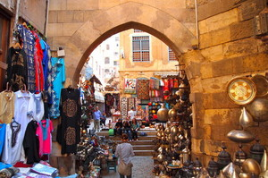 A Bazaar in Egypt