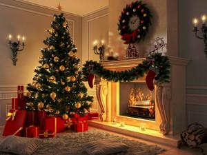 A Home, Full of Christmas Spirits 🎄🎊☃️💚🎅❤️