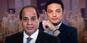 ABDELFATTAH ELSISI BEHIND THE MEN