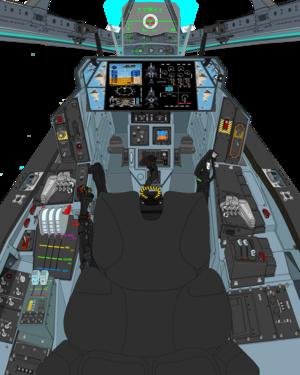 AGAC Block-2.5 cockpit cosole