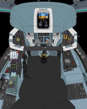 AGAC Block-50A cockpit cosole