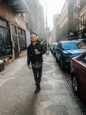 Actor Paul Vandervort New York City