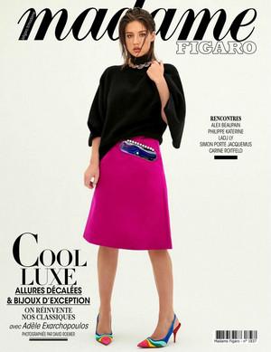 阿黛尔 Exarchopoulos - Madame Figaro Cover - 2019
