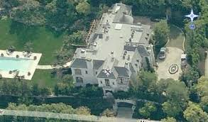 Aerial View Of Michael Jackson's Former Place Of Residence
