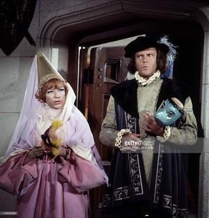 Agnes Moorehead & Dick Sargent