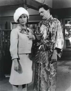 Agnes Moorehead and Bernard 狐, フォックス