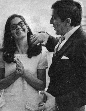 Alexandra Moltke & Jonathan Frid