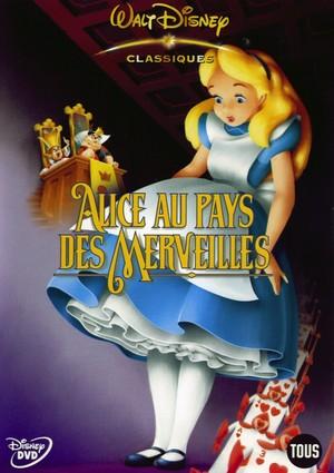 Alice in Wonderland (1951) DVD Cover