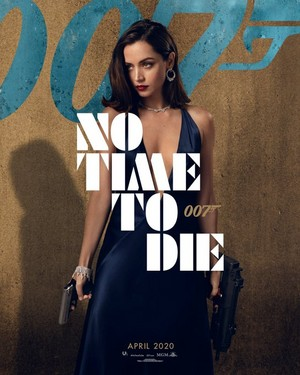 Ana ~ No Time To Die (2020) Poster