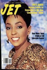 Anita Baker On The Cover Of Jet