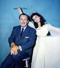 Annette Funnicello And Walt Disney