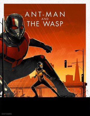 Ant-Man and The تتییا, بھڑ -Marvel Cinematic Universe Collector's Edition Box Set Posters