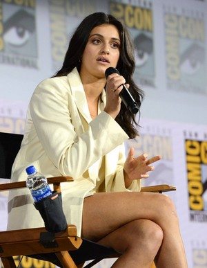 Anya Chalotra   The Witcher Panel at Comic Con San Diego 2019 08