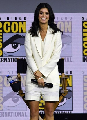 Anya Chalotra   The Witcher Panel at Comic Con San Diego 2019 13