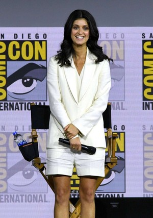 Anya Chalotra   The Witcher Panel at Comic Con San Diego 2019 15