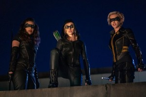 "Arrow 8x09 - ""Green Arrow & The Canaries"" promotional stills"