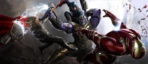 Avengers: Endgame (2019) concept art
