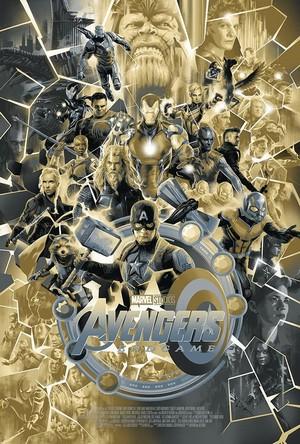 Avengers: Endgame Poster sa pamamagitan ng Matt Taylor