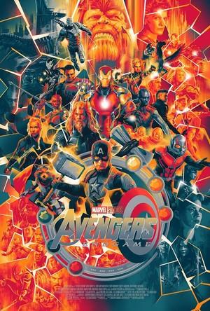 Avengers: Endgame Poster by Matt Taylor