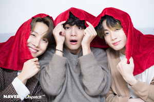 BTS Christmas photoshoot by Naver x Dispatch