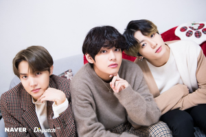 防弹少年团 圣诞节 photoshoot 由 Naver x Dispatch