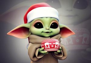 Baby Yoda by Yuriy Moskvin