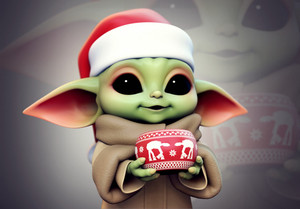 Baby Yoda door Yuriy Moskvin