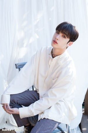 Bang Chan - Clé: Levanter Promotion Photoshoot sejak Naver x Dispatch