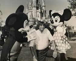 Barry Manilow With Mickey And Minnie Mouse
