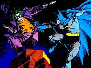 Бэтмен vs Joker