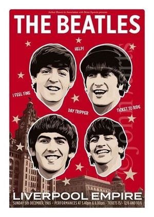 Beatles Poster 🎵