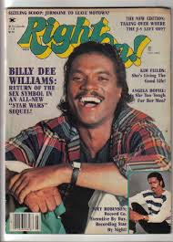 Billy Dee Williams On The Cover Of Right On!