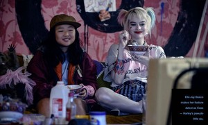Birds of Prey (2020) Still - Ella カケス, ジェイ Basco as Cassandra Cain and Margot Robbie as Harley Quinn