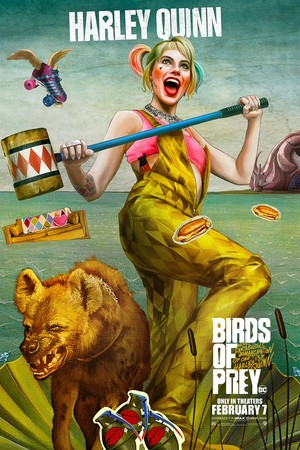 Birds of Prey (And the Fantabulous Emancipation of One Harley Quinn) (2020) Character Poster
