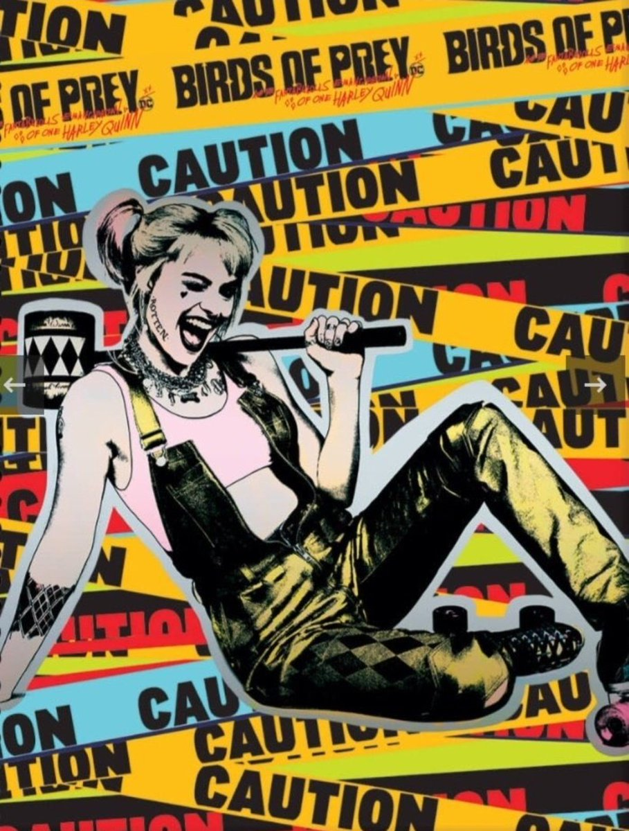 Birds Of Prey And The Fantabulous Emancipation Of One Harley Quinn 2020 Poster Harley Birds Of Prey 2020 Photo 43105280 Fanpop