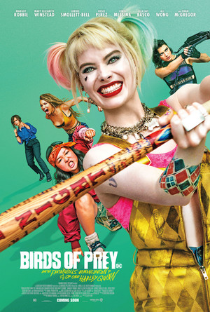 Birds of Prey (And the Fantabulous Emancipation of One Harley Quinn) (2020) Promotional Poster