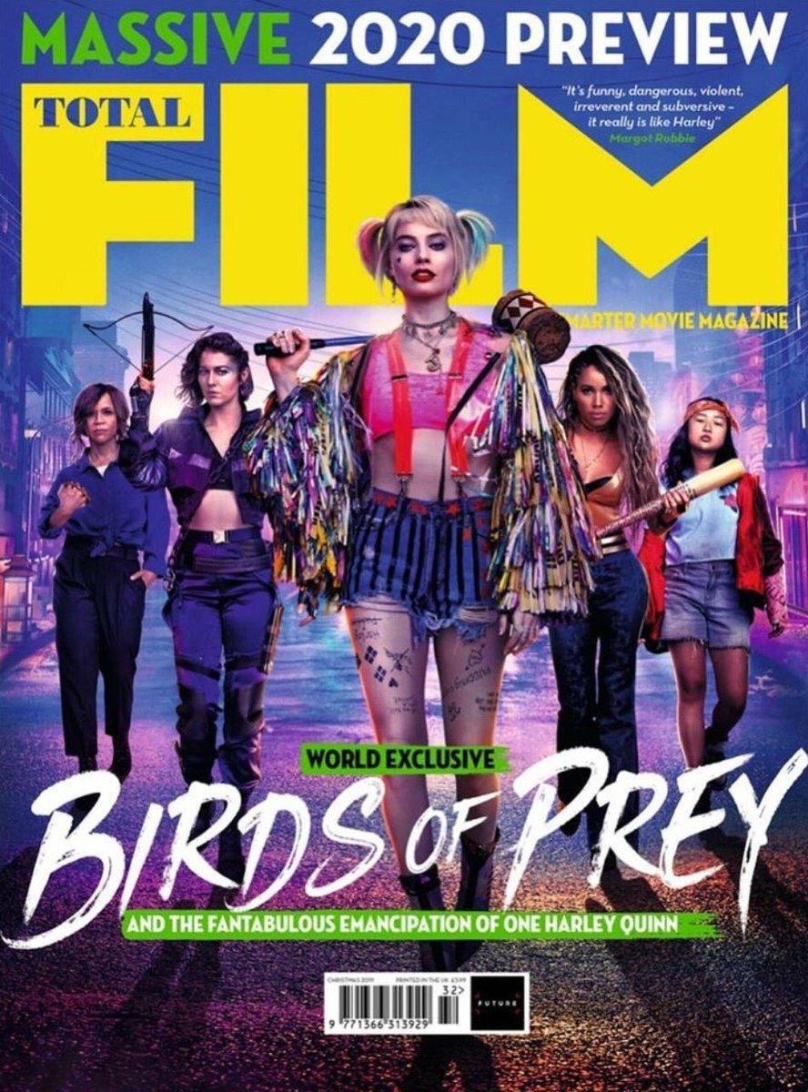 Birds Of Prey Total Film Magazine Cover Alternate January 2020 Birds Of Prey 2020 Foto 43149625 Fanpop