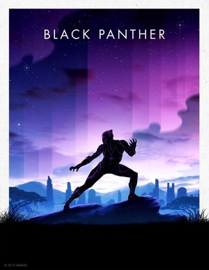 Black Panther -Marvel Cinematic Universe Collector's Edition Box Set Posters