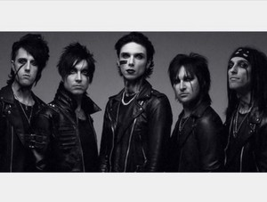 Black Veil Brides introducing Lonny Eagleton